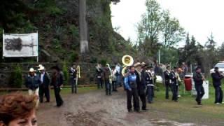 Fiestas en Huecorio día de la Candelaria 2010 en el Mirador Apupato