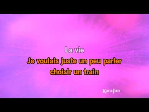 Karaoké La vie ne m'apprend rien - Liane Foly *