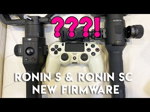 (19-11-19) DJI Ronin-S And Ronin-SC New Firmware Updates With A SURPRISINGLY Cool New Feature!