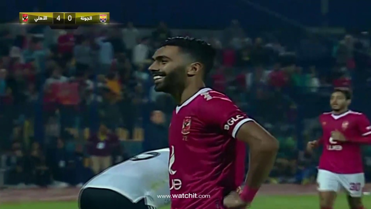 أهداف مباراة الأهلي والجونة اليوم في الدوري المصري ميركاتو داي