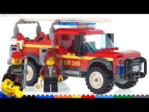 LEGO City Fire Chief Response Truck review! 60231