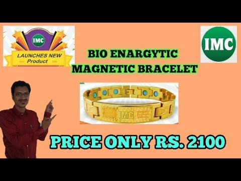 0ea329c13ea78 IMC NEW PRODUCT LOUNCH BOI ENERGETIC MAGNETIC BRACELET / SUDIP SUTHAR / IMC  BUSINESS PRODUCTS.