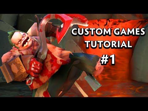 Getting Started - #1 - Dota 2 Custom Game Tutorial