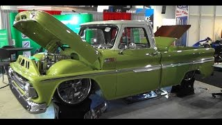 "1965 Chevy C/10 ""Boosted Bertha"" SEMA 2015"
