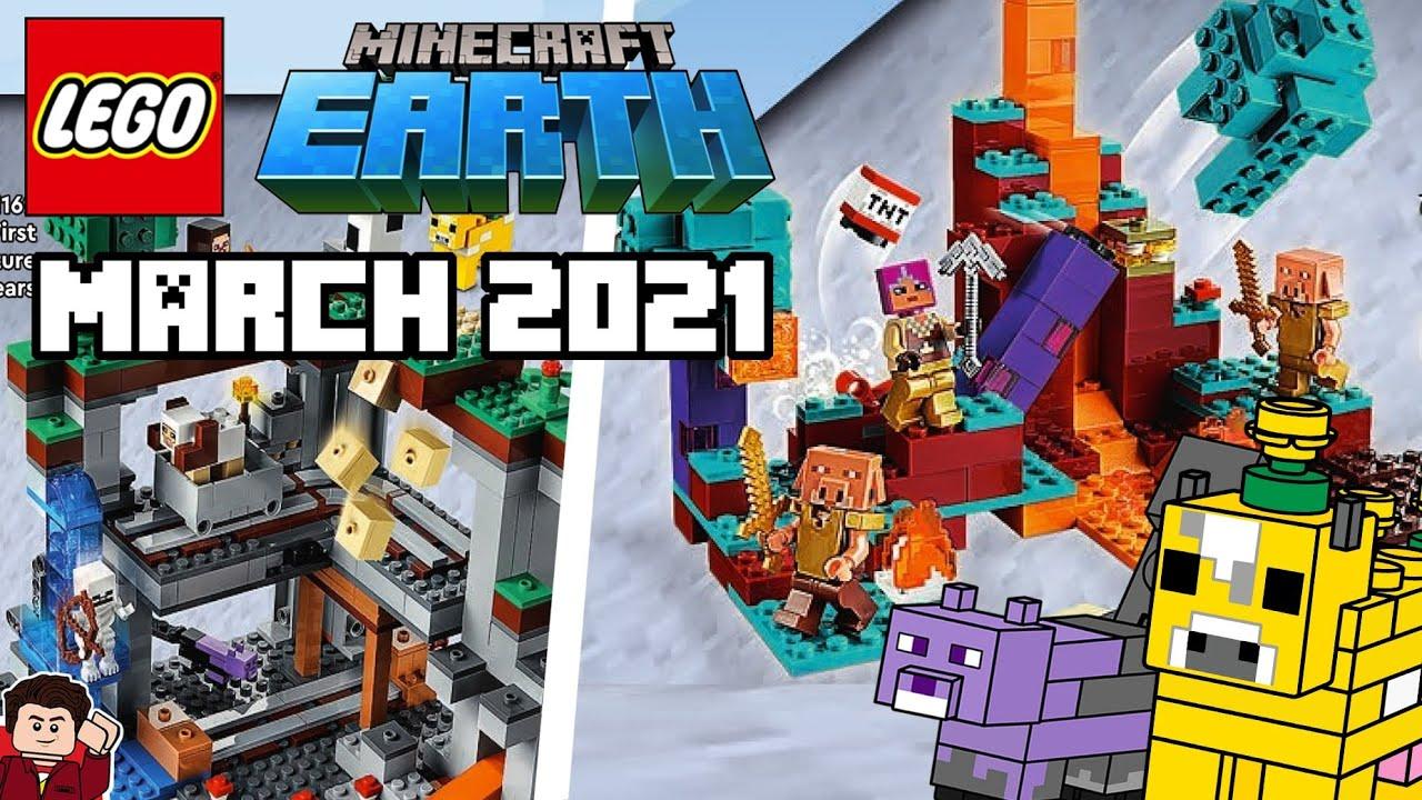 LEGO Minecraft 11 Summer Leaks  Dungeons & Nether Update Sets