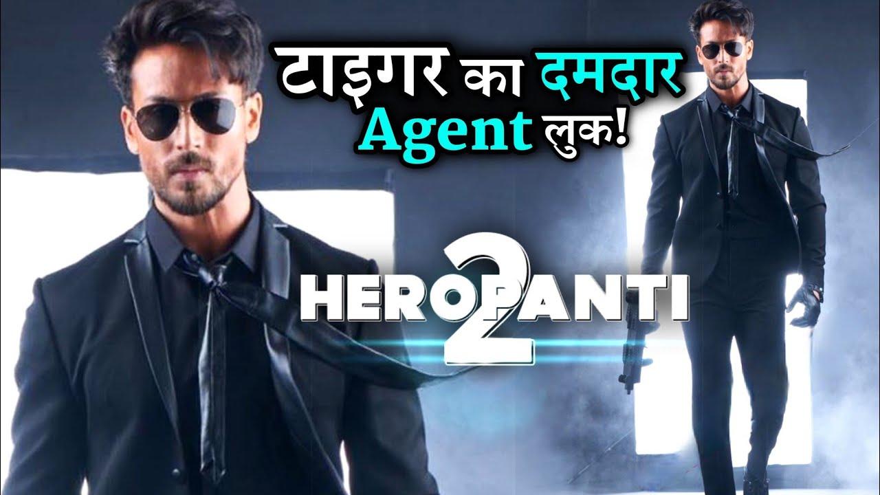 Download Tiger Shroff Share His Heropanti 2 Stylish Agent Look