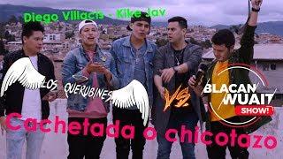 Cachetada o chicotazo VS Los Querubines (Kike Jav - Diego Villacis)
