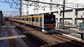 209系 八トタ82編成 立川駅到着&発車 '19.02.16
