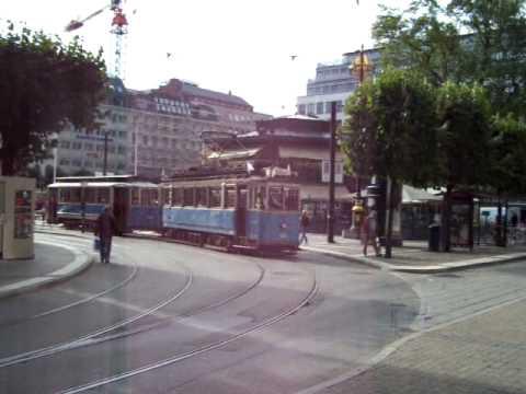 Tram at Norrmalmstorg