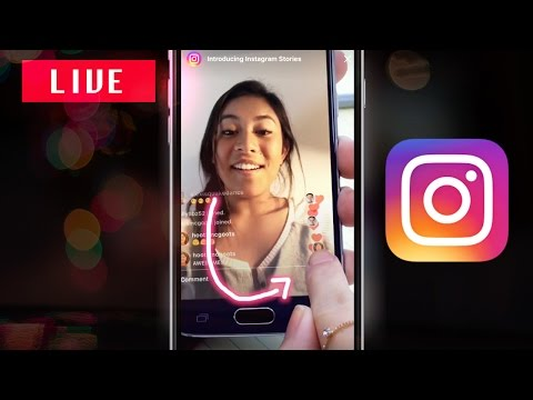 How to go LIVE on Instagram Stories 2016 New Update (IG Live Stream Video Feature Demo & Tutorial