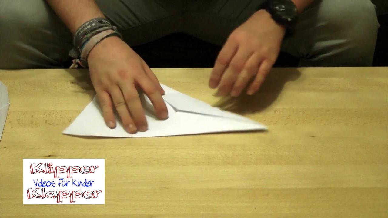Papierflieger Basteln Für Kinder Basteln Mit Kindergartenkinder