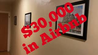 I made $30,000 with 1AirBNB house
