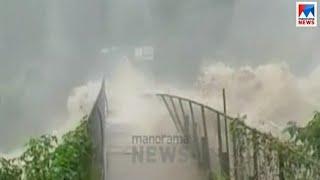 കനത്ത മഴയിൽ  ഇടുക്കി ജില്ലയില് വ്യാപക ഉരുള്പൊട്ടലും കൃഷിനാശവും   Kerala Floods