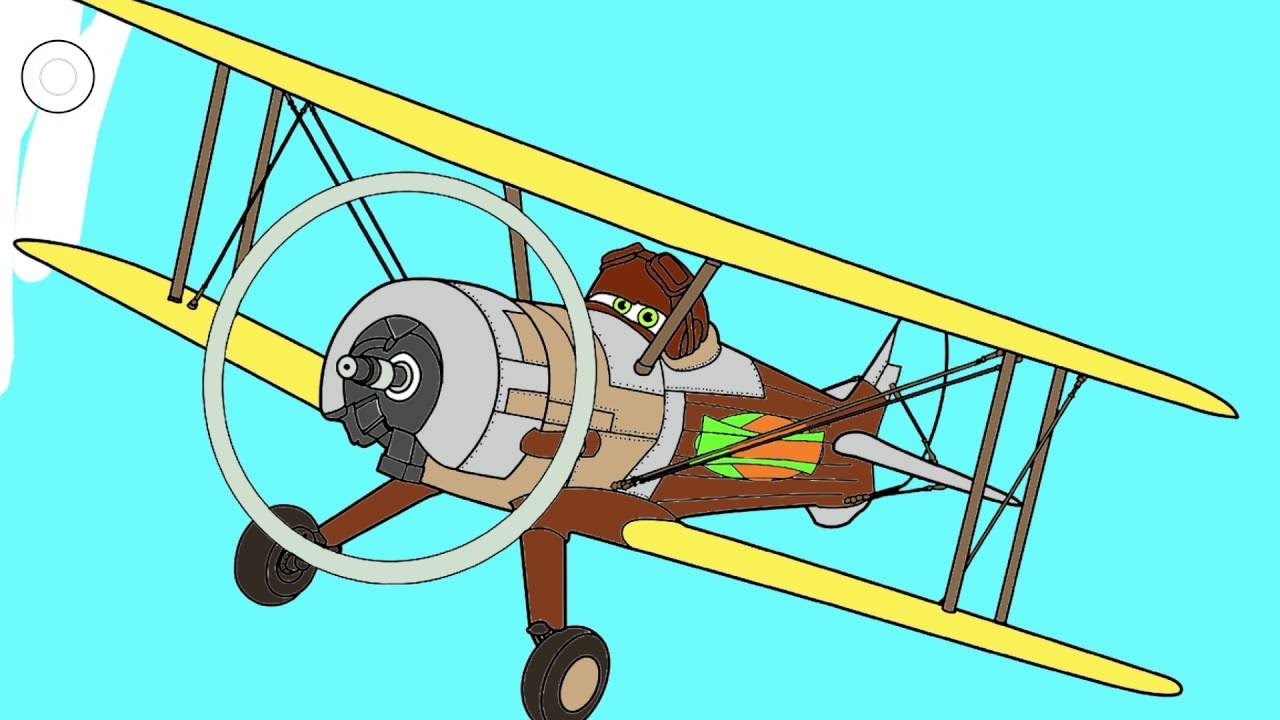 Disney Planes Coloring Page 4 - Leadbottom | Little Hands Coloring ...