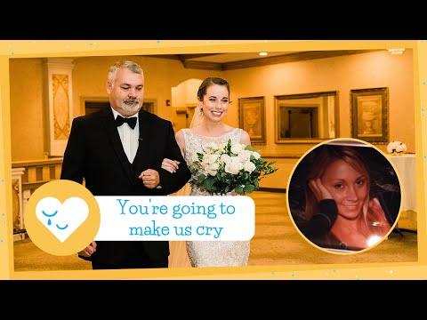 Organ Donor's Dad Walks Recipient Down Aisle On Her Wedding Day