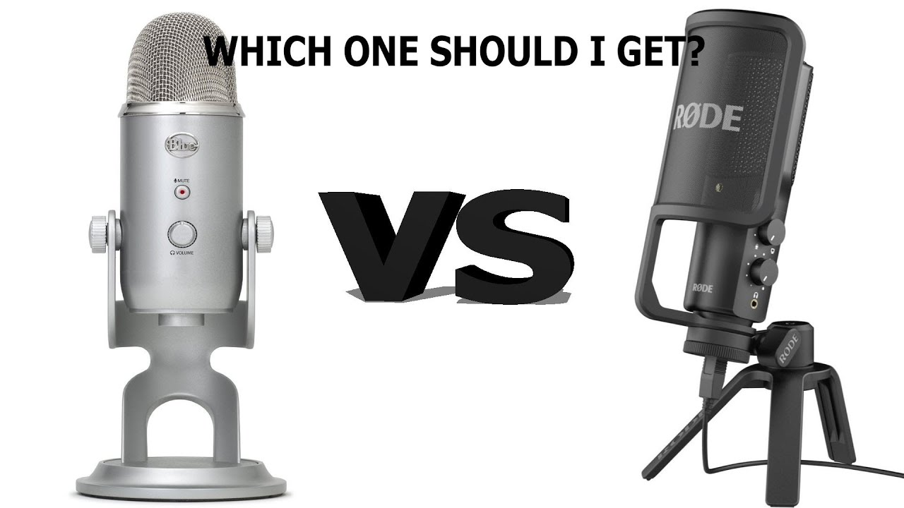 blue yeti vs rode nt usb which one should i buy youtube. Black Bedroom Furniture Sets. Home Design Ideas