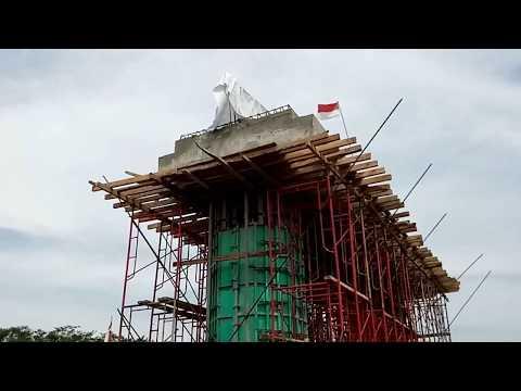 Jembatan Ngujang II Sudah Mulai Dibangun | Tulungagung New Bridge On The Brantas River