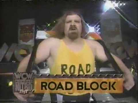 (1.27.1997) Road to Superbrawl VII Part 3 - Giant vs. Roadblock plus Giant challenges Hogan