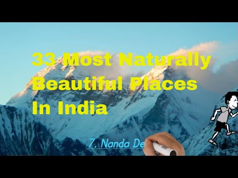 33 Most Naturally Beautiful Places In India Youtube