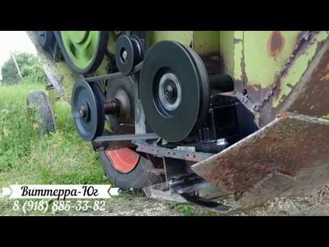 Инструкция. New Переоборудование Жатки E-302 на Режущий аппарат Шумахер