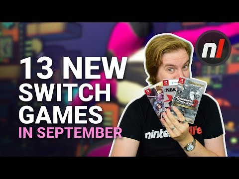 13 Great New Games Coming to Nintendo Switch in September