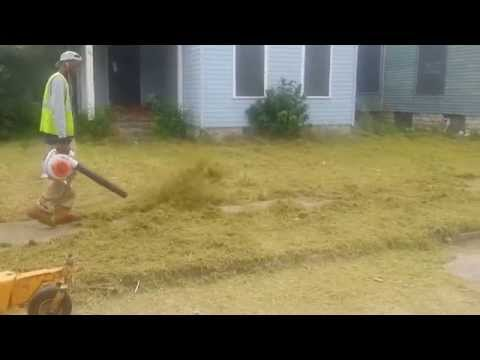 Back by Popular Demand - 5 Feet Tall Grass being cut in East Dayton, Ohio. Part 2