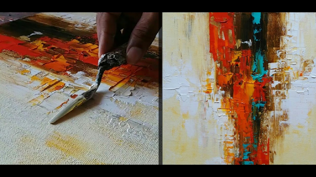 Abstract Painting How To Abstract Painting How To Make Abstract Painting For Beginners