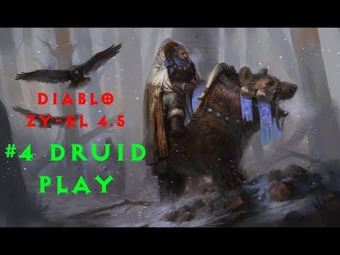 Diablo 2 Zy-El 4.5 прохождение Druid #4 Андариэль и смерти
