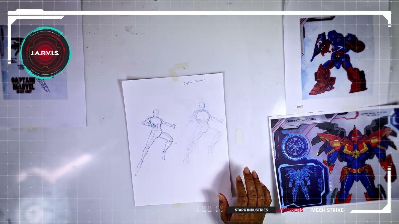 Mech Strike Draw l Capitana Marvel