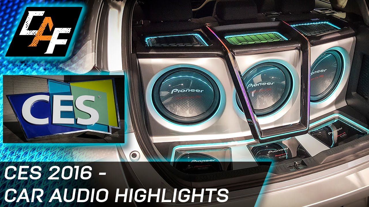 Ces 2016 best car audio tech and more youtube sciox Image collections