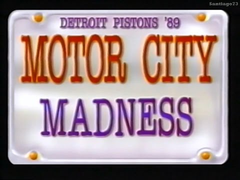 1988-89 - Detroit Pistons - Motor City Madness