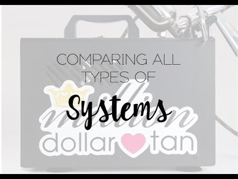 Comparing All Types Of Spray Tanning Systems & Equipment
