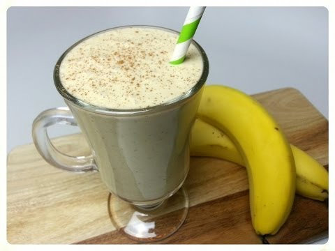 BANANA PROTEIN SMOOTHIE (How to)