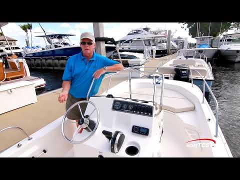 Boston Whaler 170 Montauk (2018-) Test Video - By BoatTEST.com