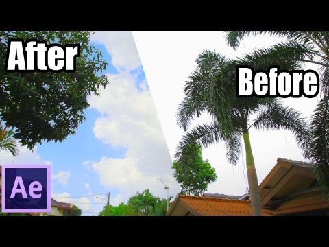 After Effects TUTORIALS - Advance Sky Replacement
