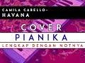 HAVANA-Cover Pianika/Melodika dengan NOTnya Lengkap