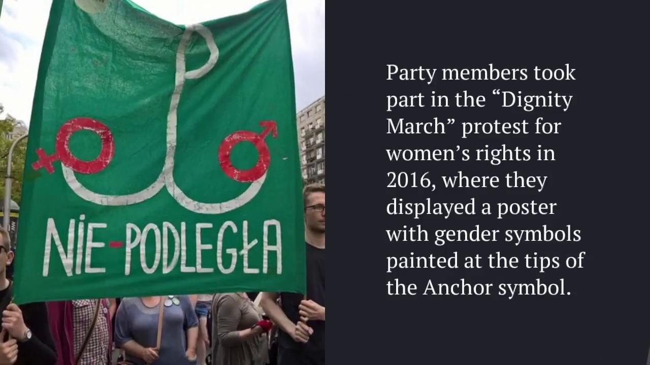 Pro Women Rights Poster Does Not Insult Polish Ww2 Resistance Symbol