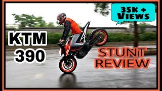 KTM DUKE 390 STUNT REVIEW | ISTUNT |