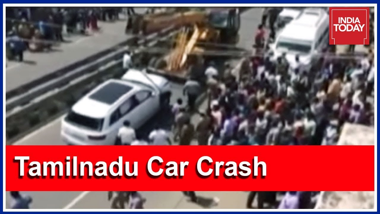 Major Car Crash In Tamil Nadu S Coimbatore Kills 7 Pedestrians Youtube