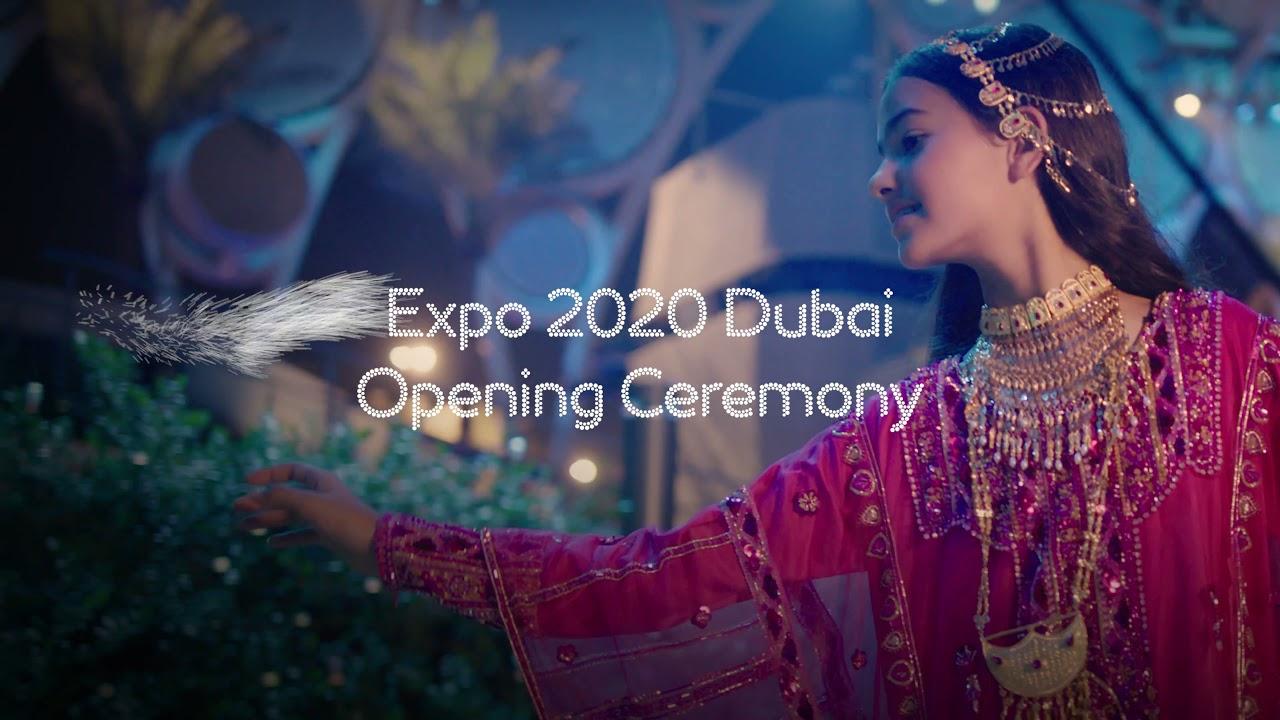 Looking forward to Expo 2020 Dubai Opening Ceremony