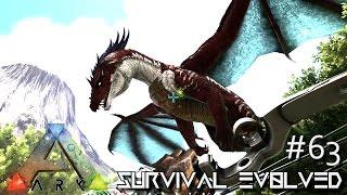 ARK: SURVIVAL EVOLVED - RED DRAGON TAME LVL 1000+ !!! E63 (MODDED ARK ANNUNAKI EXTINCTION CORE)
