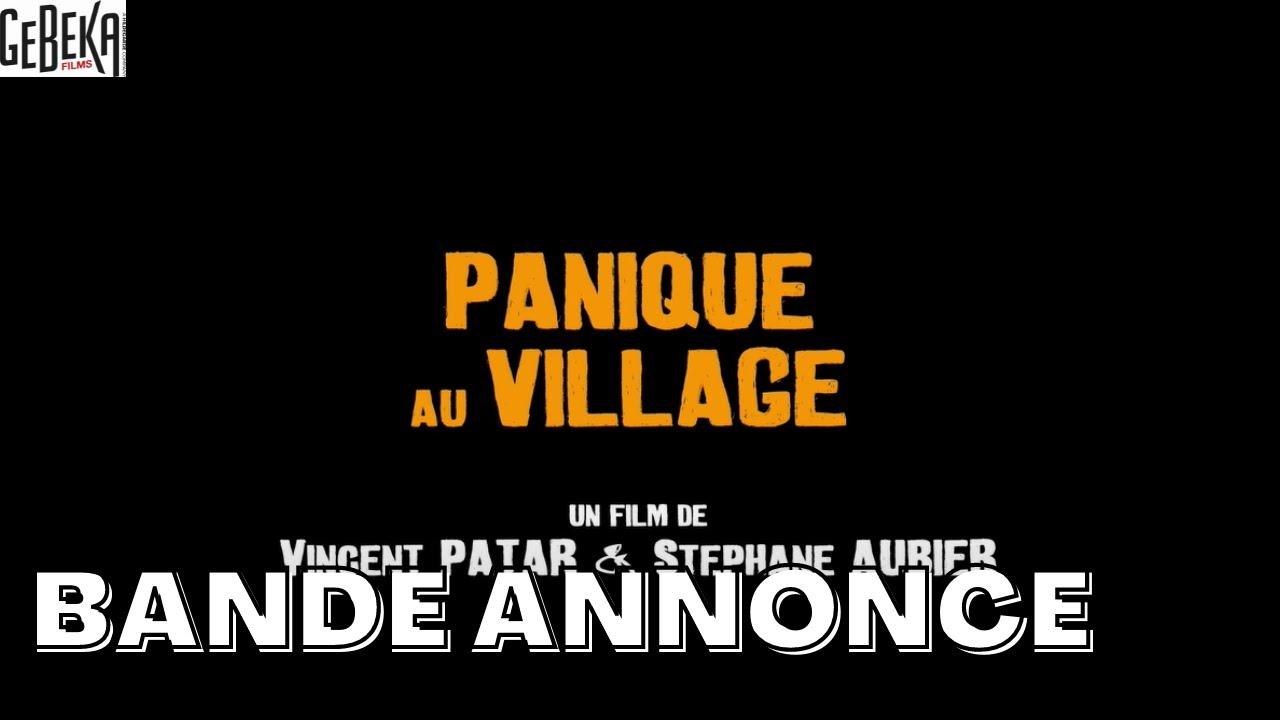 PANIQUE AU VILLAGE | Bande Annonce | Gebeka
