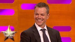 Matt Damon is... Bourne. James Bourne. - The Graham Norton Show Poster