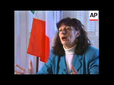 USA: FORMER IRA MEMBER SEAN O'CALLAGHAN SPEAKS OUT ABOUT IRA
