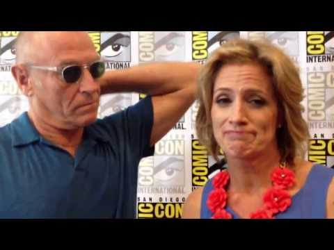 Psych - Interview Corbin Bernsen & Kirsten Nelson at Comic Con 2013