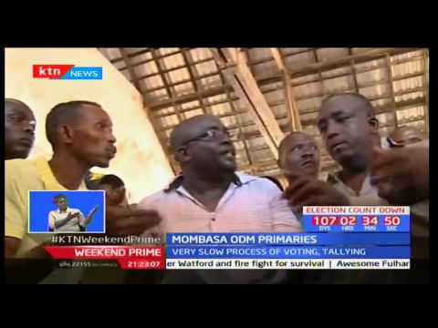 Former KTN Editor and Jicho pevu journalist Mohammed Ali is blocked out of Nyali MP race