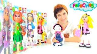 Видео для девочек. Играем в магазин и делаем куклу Фофуча Хлоя. Что подарить на 8 марта?(Видео для детей о том, как сделать подарок для девочки на 8 марта. У Маши есть много лучших подружек. А что..., 2016-02-26T06:39:22.000Z)