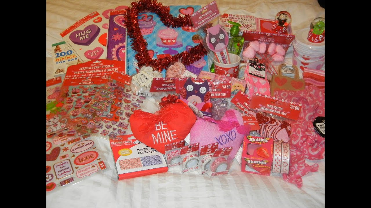 Huge Dollar Tree Haul January 2015 Valentine S Day Items Youtube