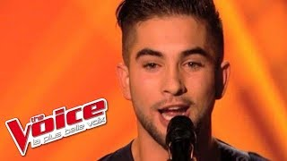 Maitre Gims - Bella | Kendji Girac | The Voice France 2014 | Blind Audition