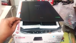 unboxing Canon LiDE 220 Scanner Hands On & Review
